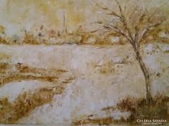 Dézsi Éva : Téli táj