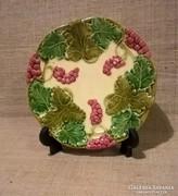 Körmöcbányai Majolika süteményes tányér 1-DB