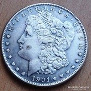 USA MORGAN ONE DOLLAR 1901-O