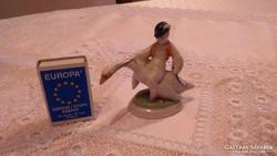 Herendi porcelán ludas matyi figura