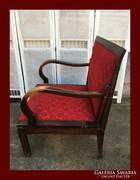 Hatalmas art deco fotel,fotelágy
