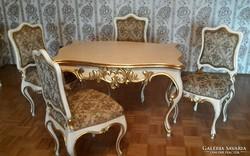 Eredeti antik kastély bútor barok étkező