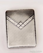 Ezüst cigarettatárca