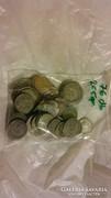 Régi ezüst pénzek 76 db hagyatékból