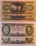Sorszámkövető 10 forint 1975