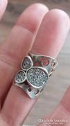 925 ezüst gyűrű! Gyönyörű!