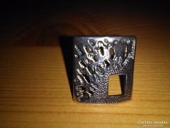 VÉGKIÁRUSÍTÁS!!  Modern stílusú ezüst gyűrű