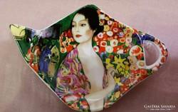 """G.Klimt  """" Táncosnő """" üveg filtertartó"""