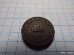 2 Fillér 1897 !! ( 3 )