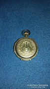 Remontoire 10 rubis 14k arany zsebóra 1860