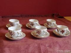 Acuincum 6 személyes kávéskészlet
