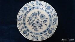 Meisseni hagymamintás Miessen lapos tányér