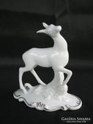 Royal Dux porcelán őz őzike
