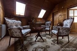 Barokkos ülőgarnitúra, 4 darabos