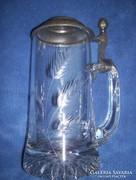 Üveg söröskorsó
