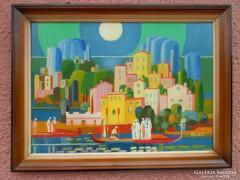 Pleidell János festmény, Itáliai táj