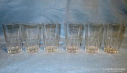 6 db 1 dl-es üveg mércés pohár