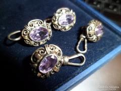 Antik ezüst ékszerek