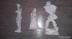 3db Régi só szobrok