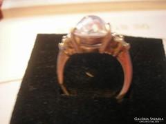 925-ös ezüst,kristály köves gyűrű