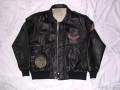 Amerikai A2 pilóta bőr dzseki