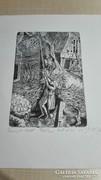 Brueghel- grafika- rézkarc 3/4