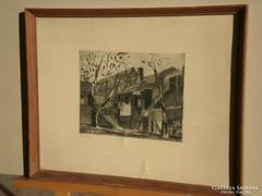Blahos Rudolf (1917 – 1986) : Öreg ház