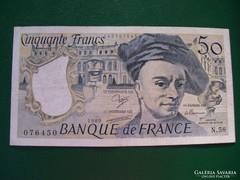 Franciaország 50 Francs 1989.