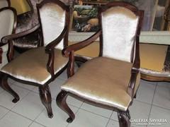 Antik Neobarokk karfás székek 2db