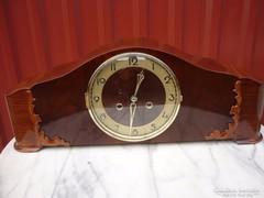 Restaurált Art-deco kandalló óra...gyönyörű