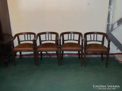 Karfás székek 4db