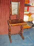 Antik Ó-német fésülködő asztal