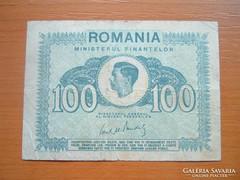 ROMÁNIA 100 LEI 1945 MIHÁLY KIRÁLY
