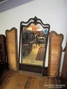 Antik bécsi barokk tükrös szekrény