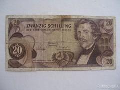 Austria 20 Shilling 1967.