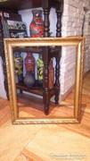 Arany - fa vastag képkeret falc 58x48 cm