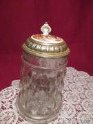 UV10 Fém fedeles üveg sörös korsó Jelenetes