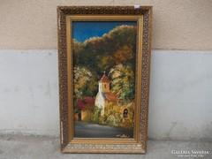 Andrássy Róbert festmény(69cmx42 cm)