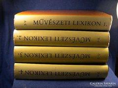 Művészeti lexikon 4 kötet