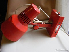 Retro Elektrofém fali lámpa