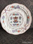 Ritka, címeres Herendi tányér