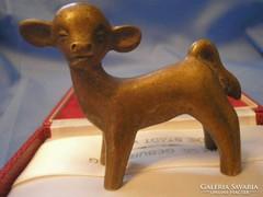 Hagenauer stíl bronz boci ritkaság! art Deco