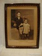 Keretezett gyermek fotó 1943
