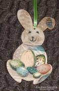 Húsvéti nyuszi ajtó, abalkdísz