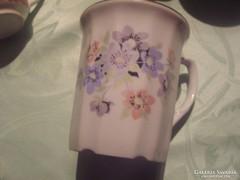 Rózsás teás csésze   2dl