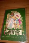 Csipkerózsika mesekönyv 1963-as kiadás!