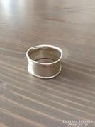 Kézműves ezüst gyűrű