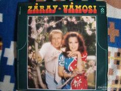Záray-Vámosi LP bakelit lemez