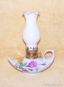 Rózsás petróleum lámpa