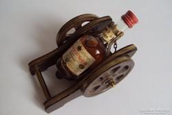 Eredeti francia Courvoisier mini ágyútalpon